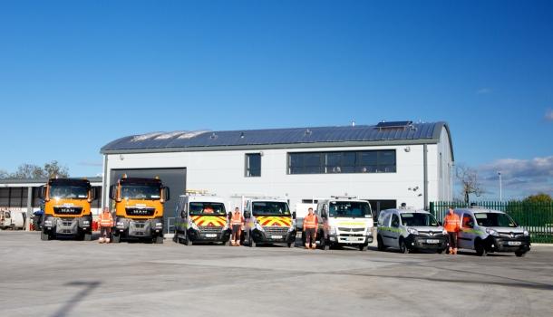 NRA Maintenance Depot Kilkenny, constructed by Glenman Corporation