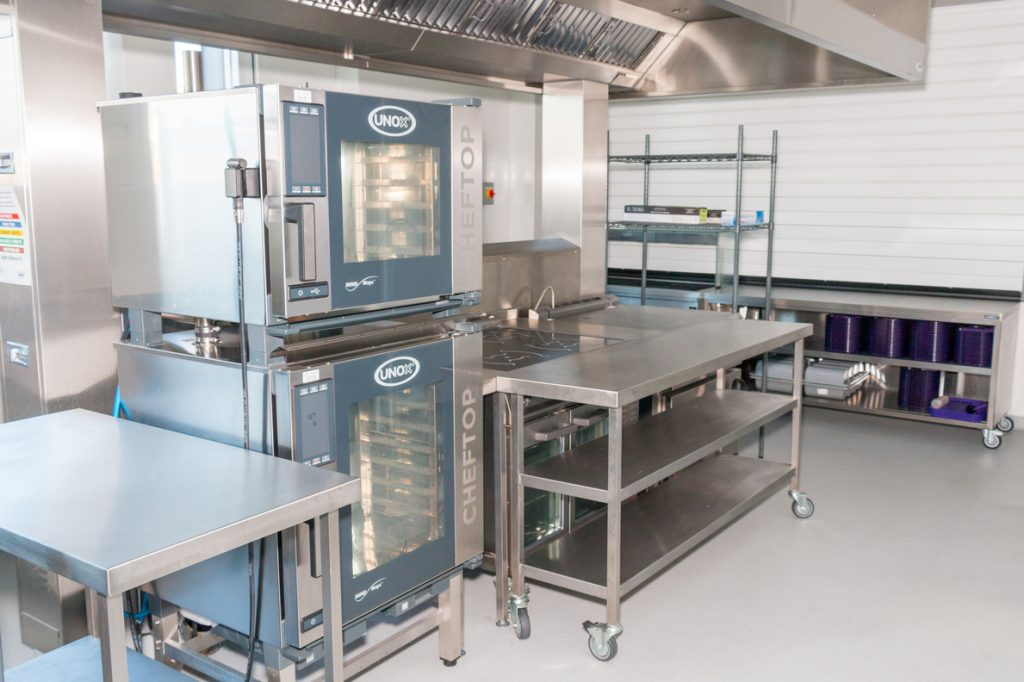 Kitchen facility at Plumcroft Primary