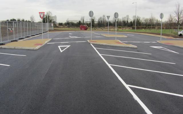 LINC Carpark for Institute of Technology, Blanchardstown, Dublin