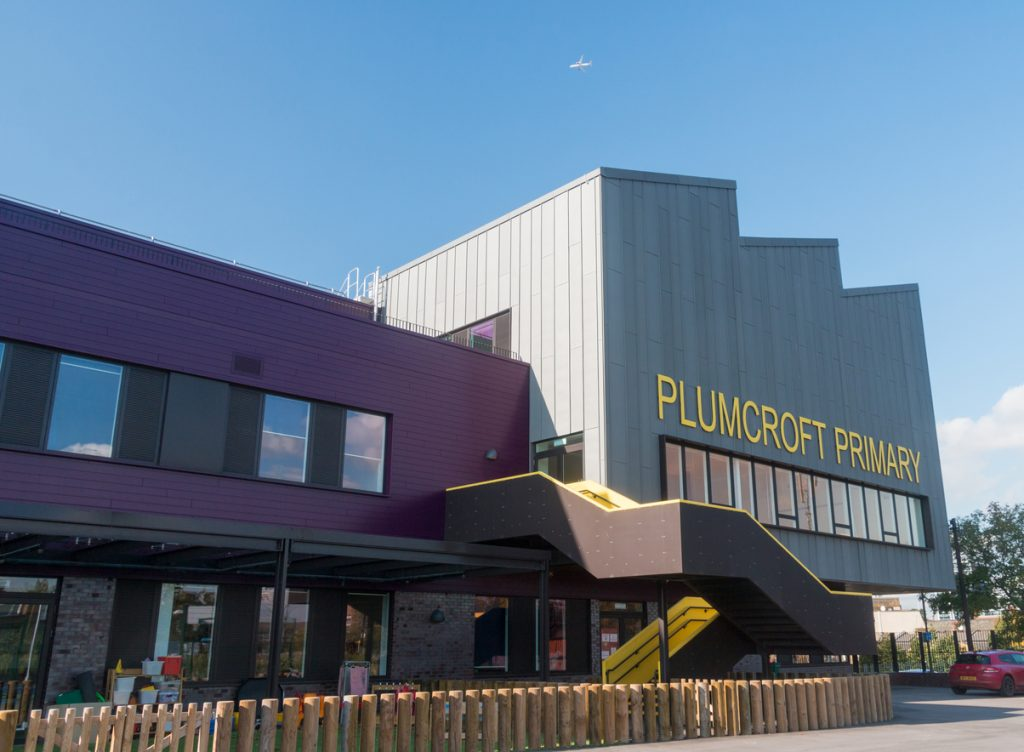 Plumcroft Primary won Project of the Year – Schools at the Education Estates awards