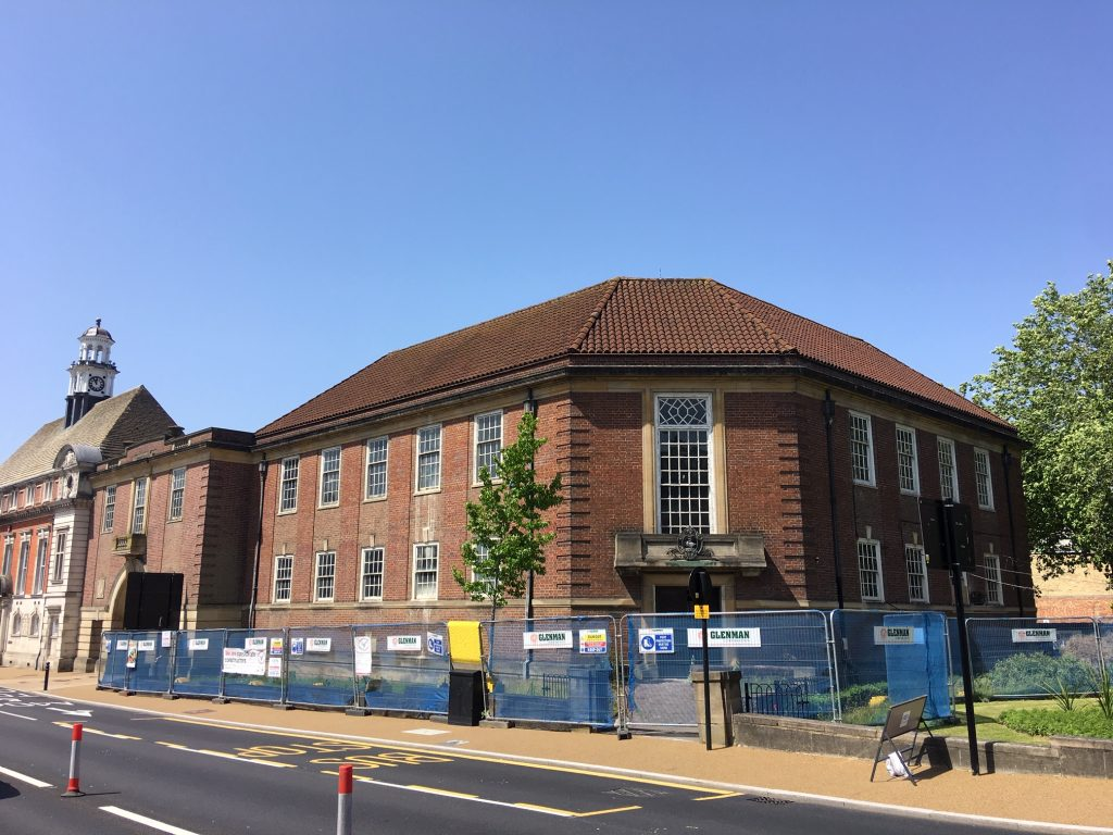Renovation Works Begin at Old Wycombe Library