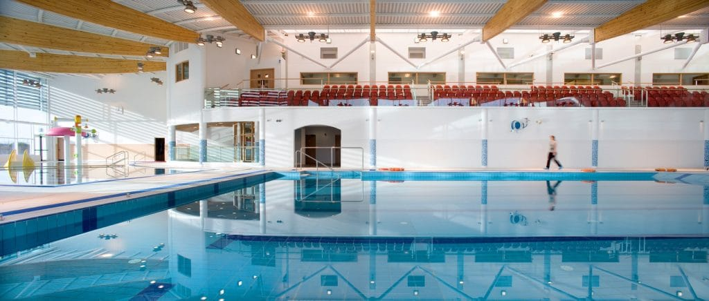 kilkenny leisure centre built by Glenman Corporation Ltd Galway builders